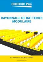 Rayonnage de batteries modulaire