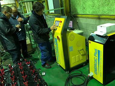 Battery reconditioning in Japan
