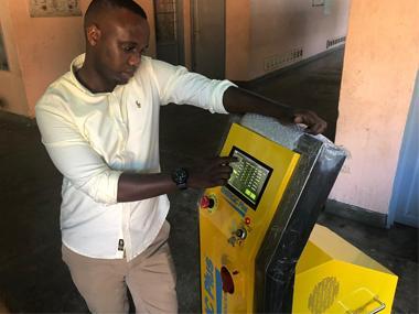Battery regeneration in Rwanda