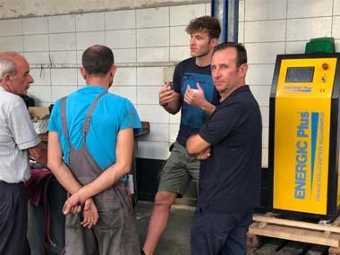 Régénération de batteries en Albanie avec Ismaili Group à Durrës