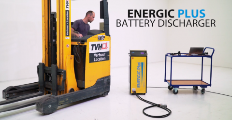 How to discharge lead-acid batteries