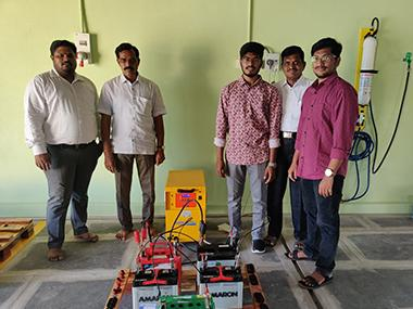 Another full equipped battery workshop in India thanks to Energic Plus