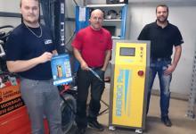 Battery regenerator sold in Finland