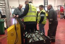 Battery regenerator for Still dealer