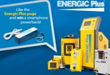 Like Energic Plus on Facebook and win