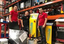 Entretien de batteries au Mexique