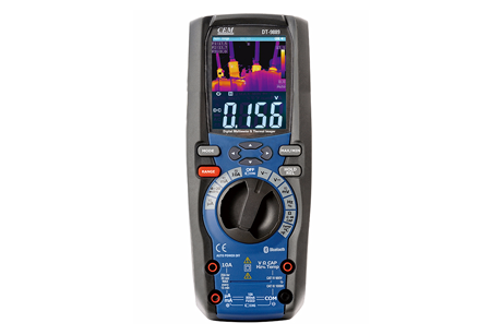 Digital Multimeter built-in Thermal Imager