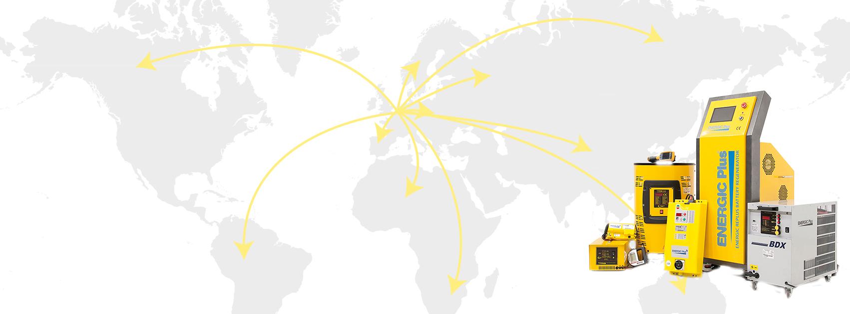 Energic Plus worldwide